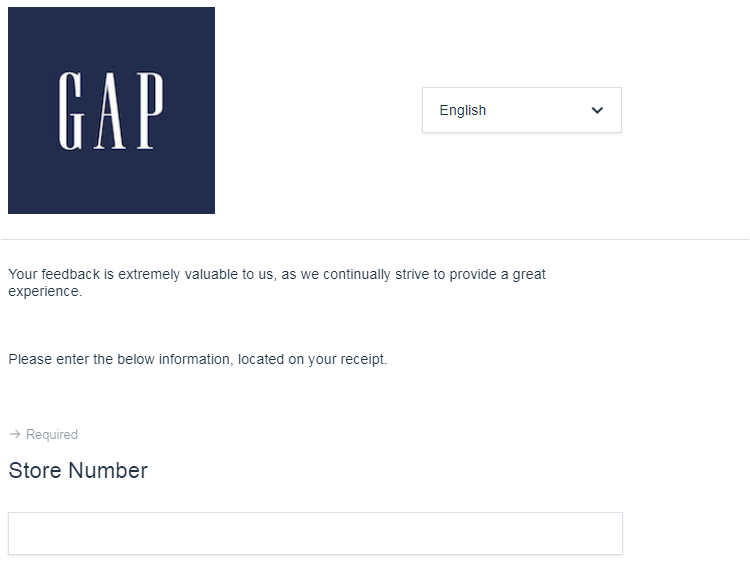 GAP Guest Satisfaction Survey